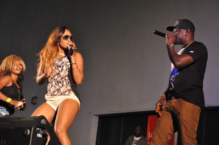 Seyi Shay On Stage