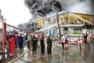 Fire Destroys Over 150 Spare Parts Store In Apapa, Lagos