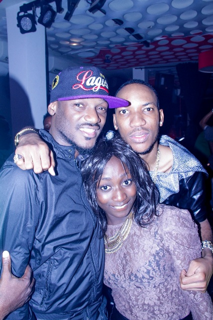 TUFACE, PEESHAUN AND A FAN