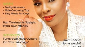 Olajumoke Adenowo Rocks The Cover Of TW Magazine