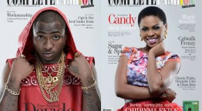 Davido and Chidinma Cover June Edition Of Complete Fashion Magazine