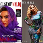 "Ghanian Actress Juliet Ibrahim Looking Spectular On The Cover Of ""House Of Maliq"" July 2013 Issue"
