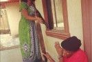 In Pictures: Funke Akindele Beating Up Nkem Owoh