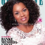 Banke Meshida – Lawal Looks Flawless On The Cover Of Genevieve Magazine July Edition