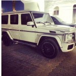 Photo: Davido Cops New Mercedes Benz G-Class