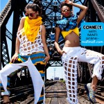 Zen Magazine Fashion Editorial on Ethiopian designer MAFI