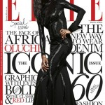 The Face Of Africa! Oluchi Covers August 2013 Issue Of Elle Magazine