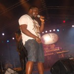 Photos: What Is Timaya Doing With A Condom On Stage?