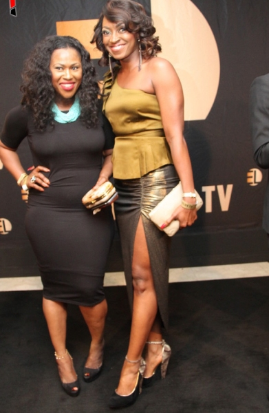 Uche Jombo and Kate Henshaw