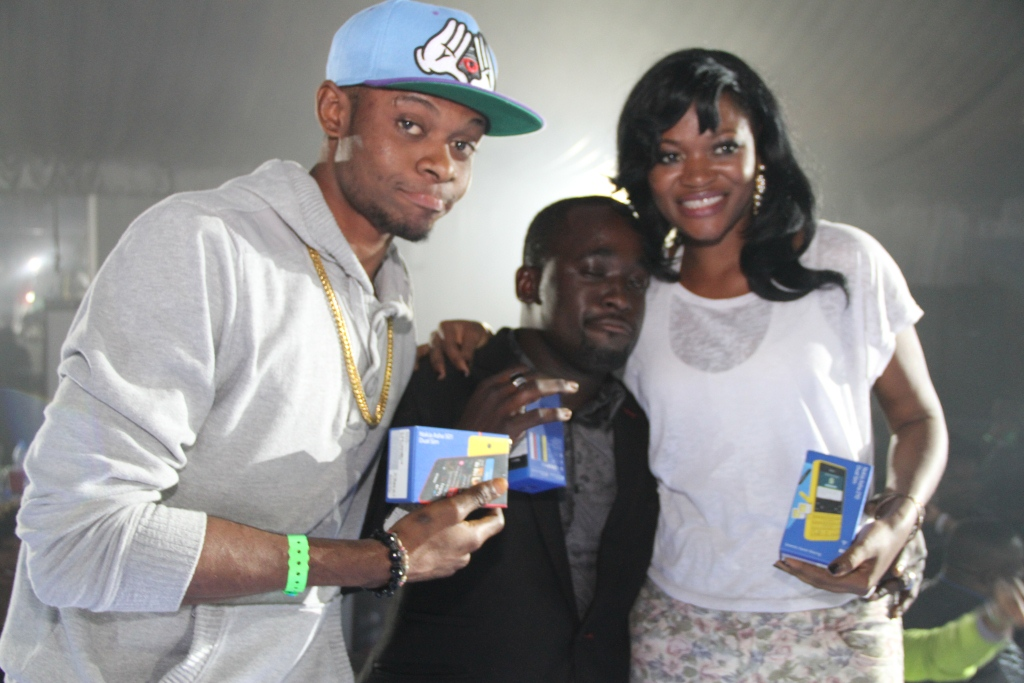 Winners of the Nokia Asha 210 and 501 devices