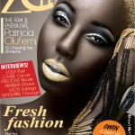Nigerian Model Patricia Olufemi graces the cover of Zen Magazine July 2013 Digital Issue