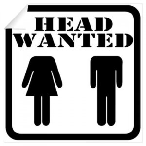 head wanted