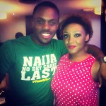 Photos: BBA Housemates Melvin & Beverly Arrive In Lagos