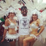Photos: Banky W Living It Up At Caribana Festival In Toronto, Canada