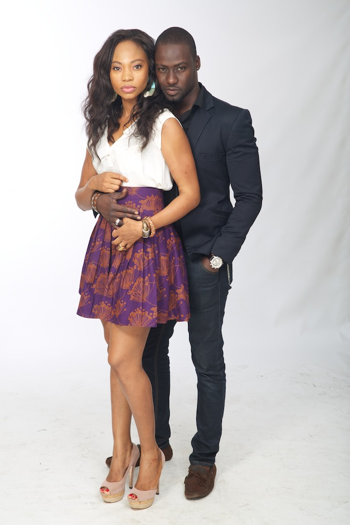 Chris Attoh and Leonora Okine in Shuga (BW0A1389)