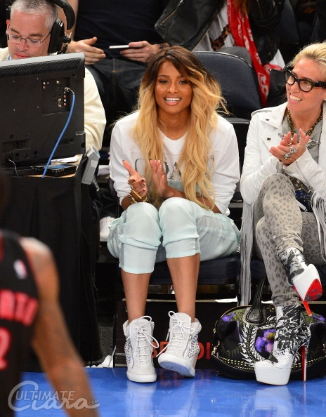 Ciara-Knicks-Raptors-Game
