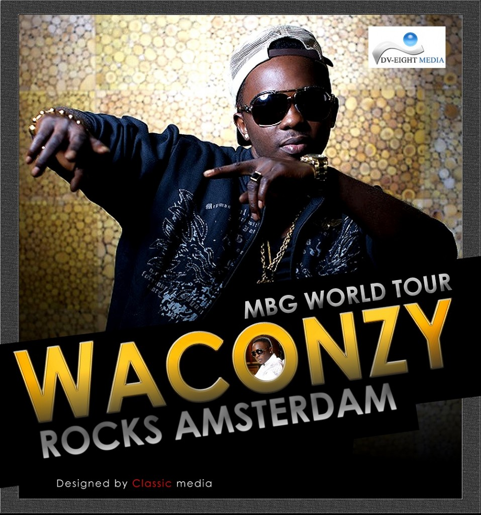 Cover Picture - Waconzy Rocks Amsterdam