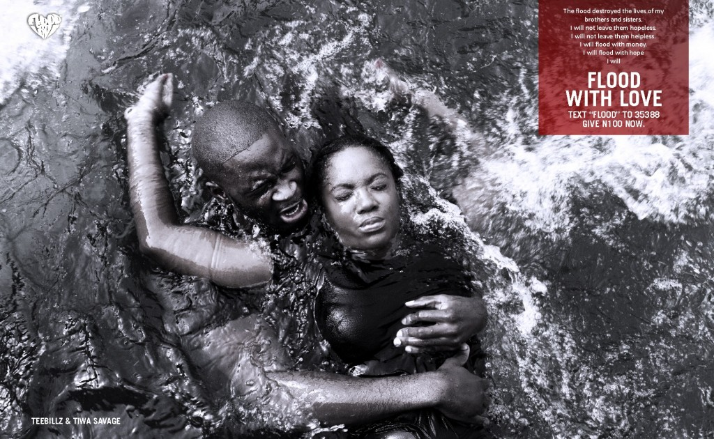 FLOOD WITH LOVE CAMPAIGN (ONLINE) TEEBILLZ&TIWA1