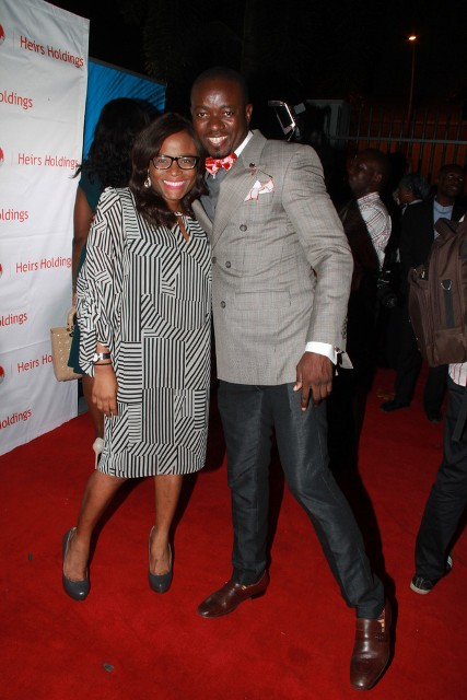 Funke Bucknor and Uche Nnaji