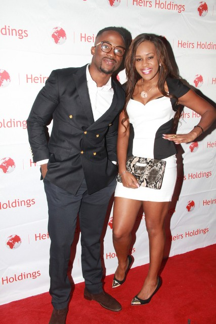 Iyanya and Emma Nyra