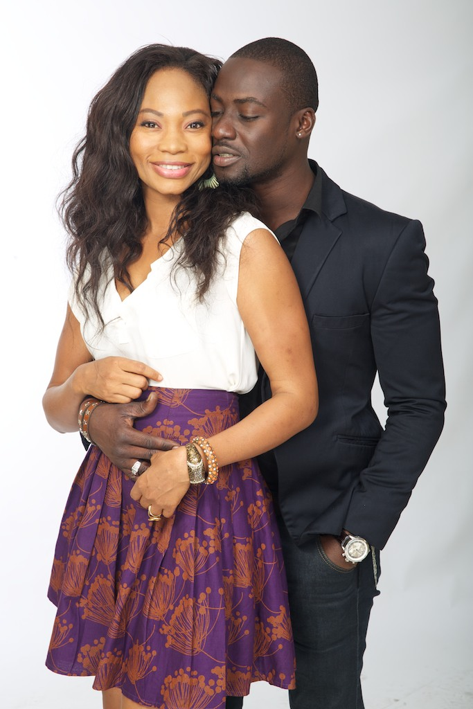 Leonora Okine with Chris Attoh in Shuga - Lagos (BW0A1397)