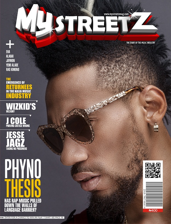 Phyno My Streetz Cover