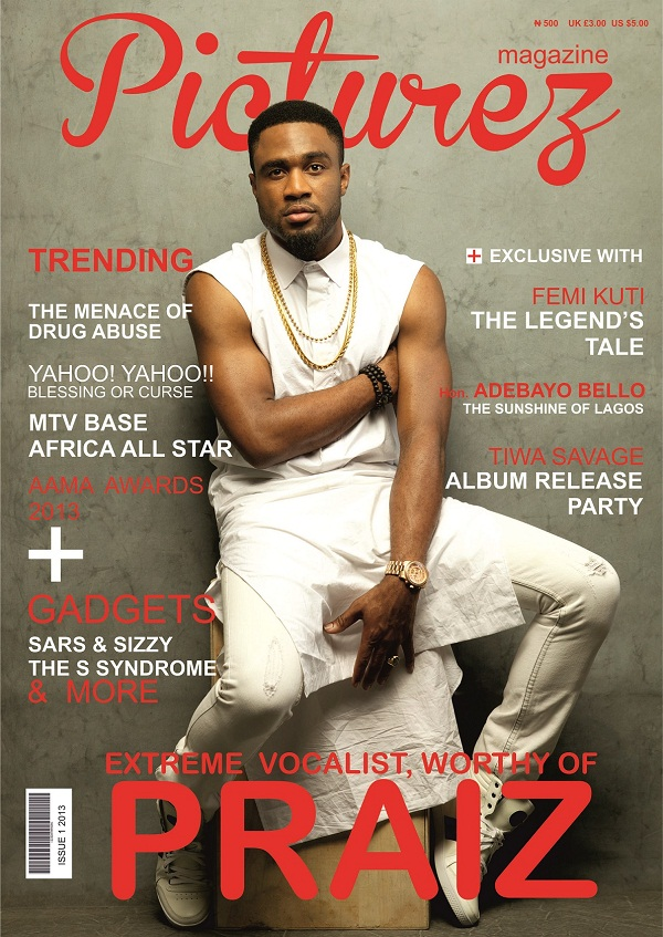 Praiz - Picturez Magazine Cover