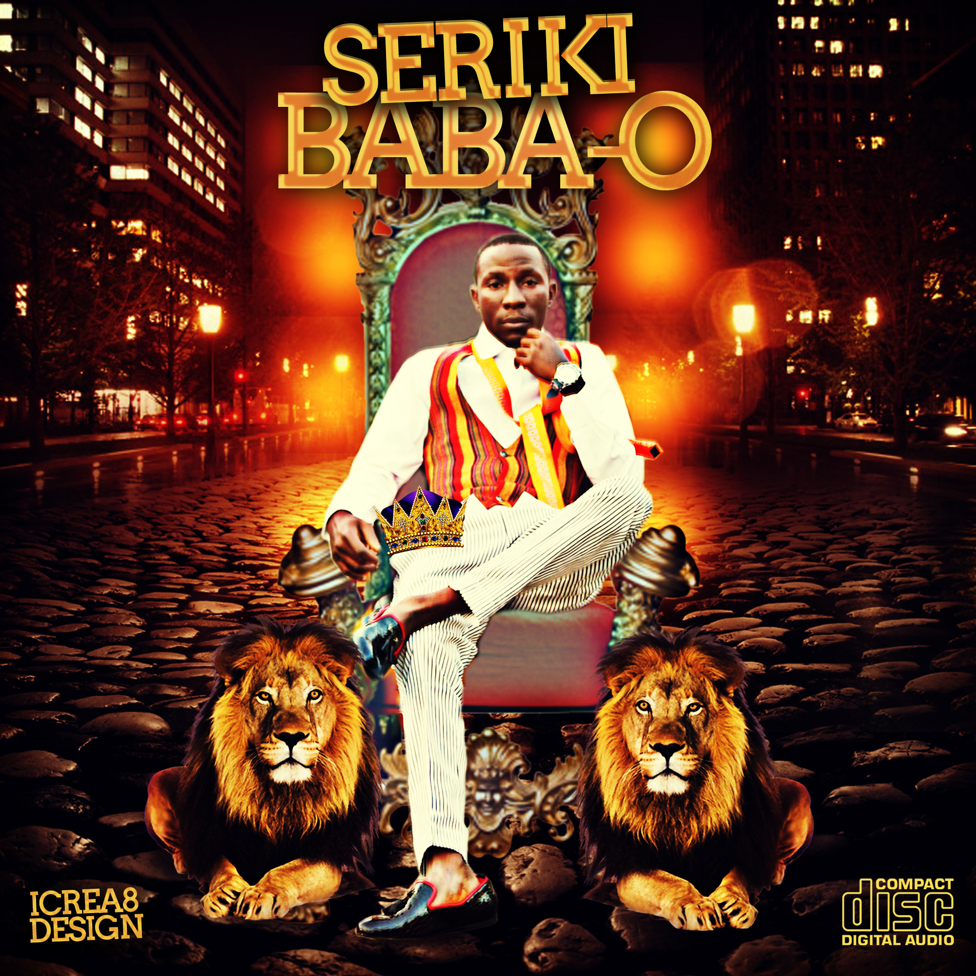 Seriki - Baba O Artwork