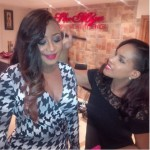 Pictures : Ini Edo Stuns At Nollywood Celebrates Omotola Event.