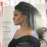 Omotola Jalade Ekeinde On The Cover Of UK's Stella Magazine
