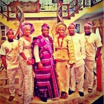 Photo: The Adeleke Family At Sharon Adeleke's Wedding