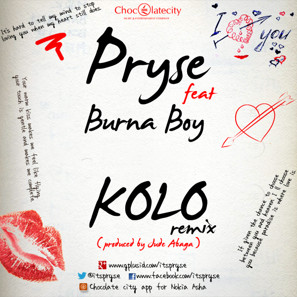 pryse kolo remix feat burna boy