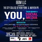 Ibom LLC Partners With The City College Of New York And Mayven PR To Host Social Media Panel In Harlem