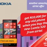 Airtel Offer Nigerians Opportunity to Own Nokia Lumia 520 Smartphone