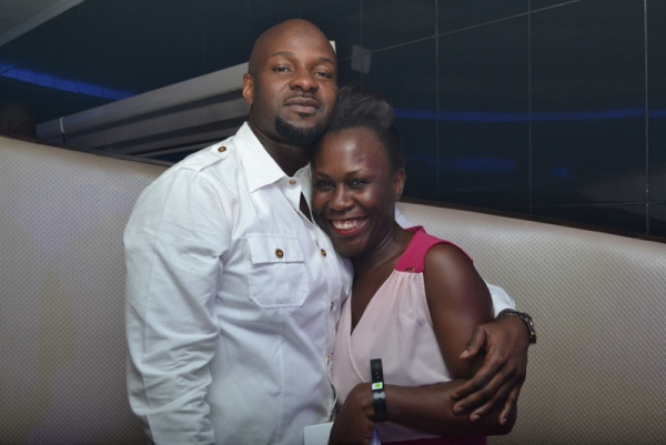 Alex Okosi and Tara Durotoye