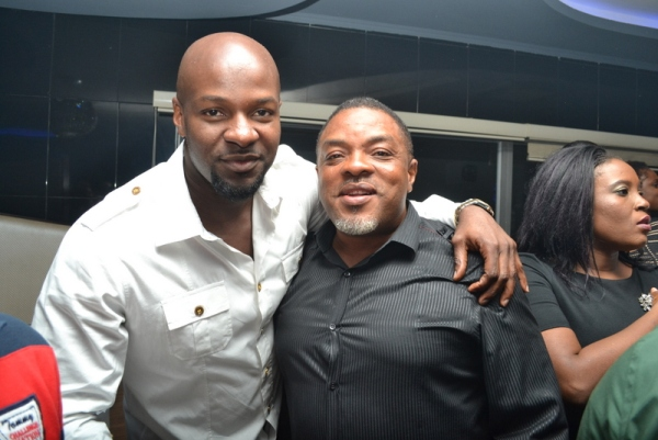 Alex Okosi and guest
