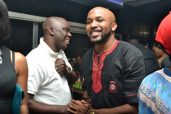 Ayo Nimashaun and Banky W