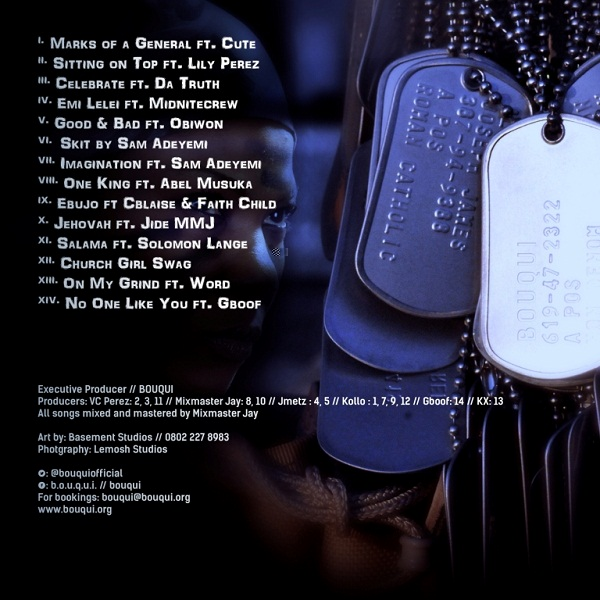 BOUQUI - Marks Of A General [BACK]