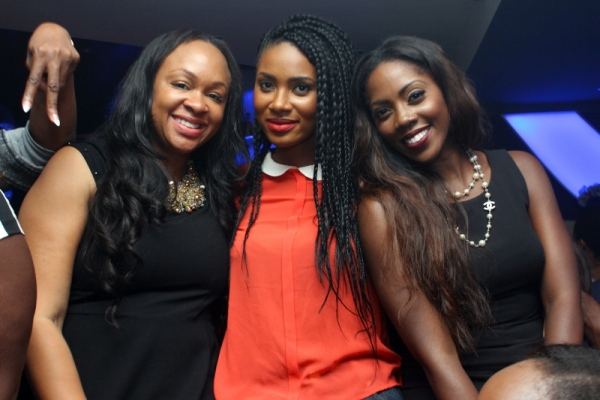 Colette Otusheso, Jumai Shaba and Tiwa Savage
