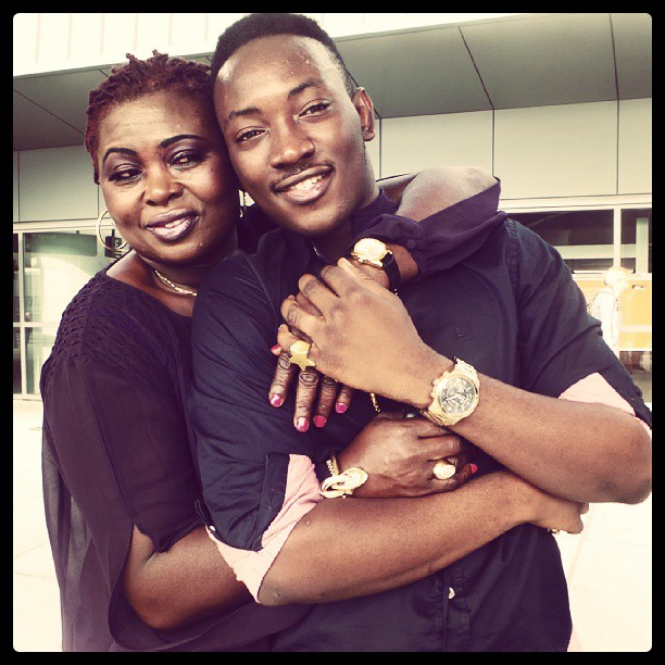 Dammy-Krane-and-Mother