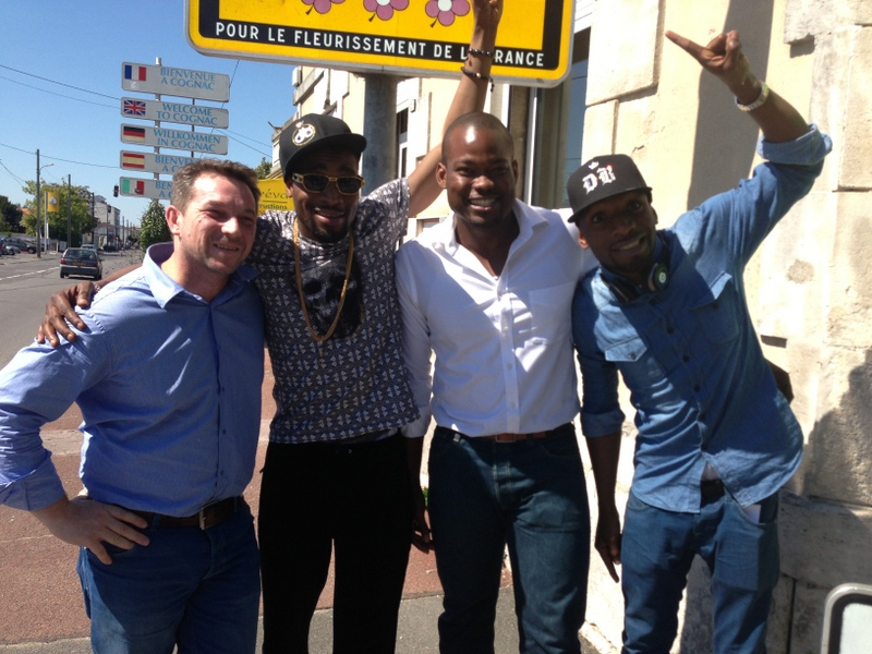 David Hourdry, Dbanj, Lere Awokoya and Kay Switch in France