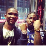 Photo: The Rolly Boys! Davido & Samuel Eto Showing Off Their Rolex Watches