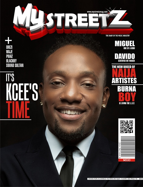 Kcee Gets On The Cover Of My StreetZ Magazine
