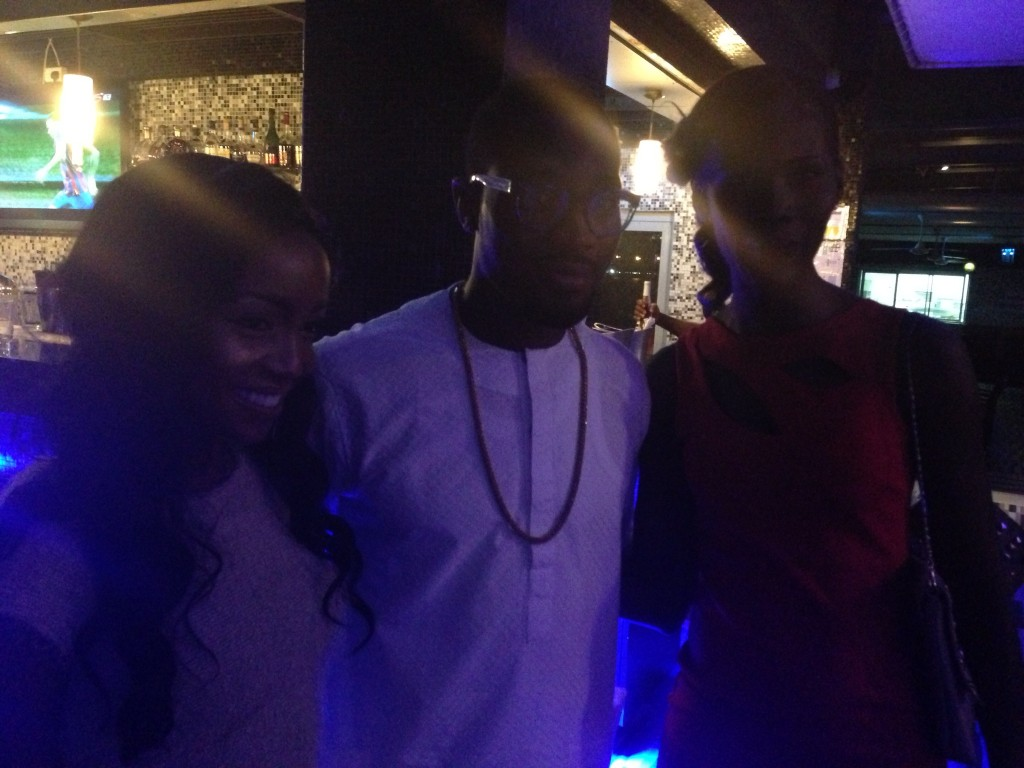 Miss Kenya, Vicki, Dbanj and Miss Ghana Nana