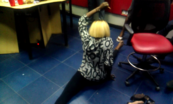 Video | Yemi Alade and Saeon Twerking Hard