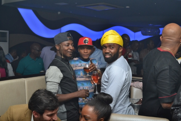 Shaydee, wizkid and Noble Igwe