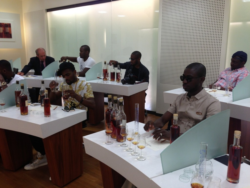 The Hennessy Blending class
