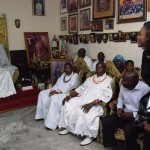 In Pictures: Oba Of Benin Welcomes Waje With Gifts And Blessings