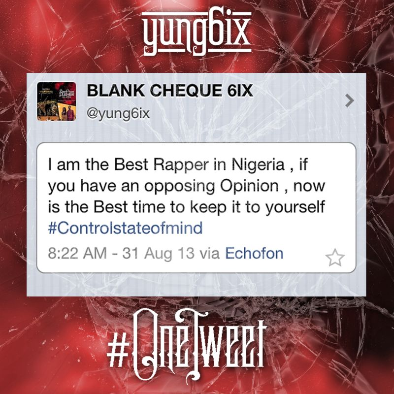 Yung6ix - One Tweet [Artwork]