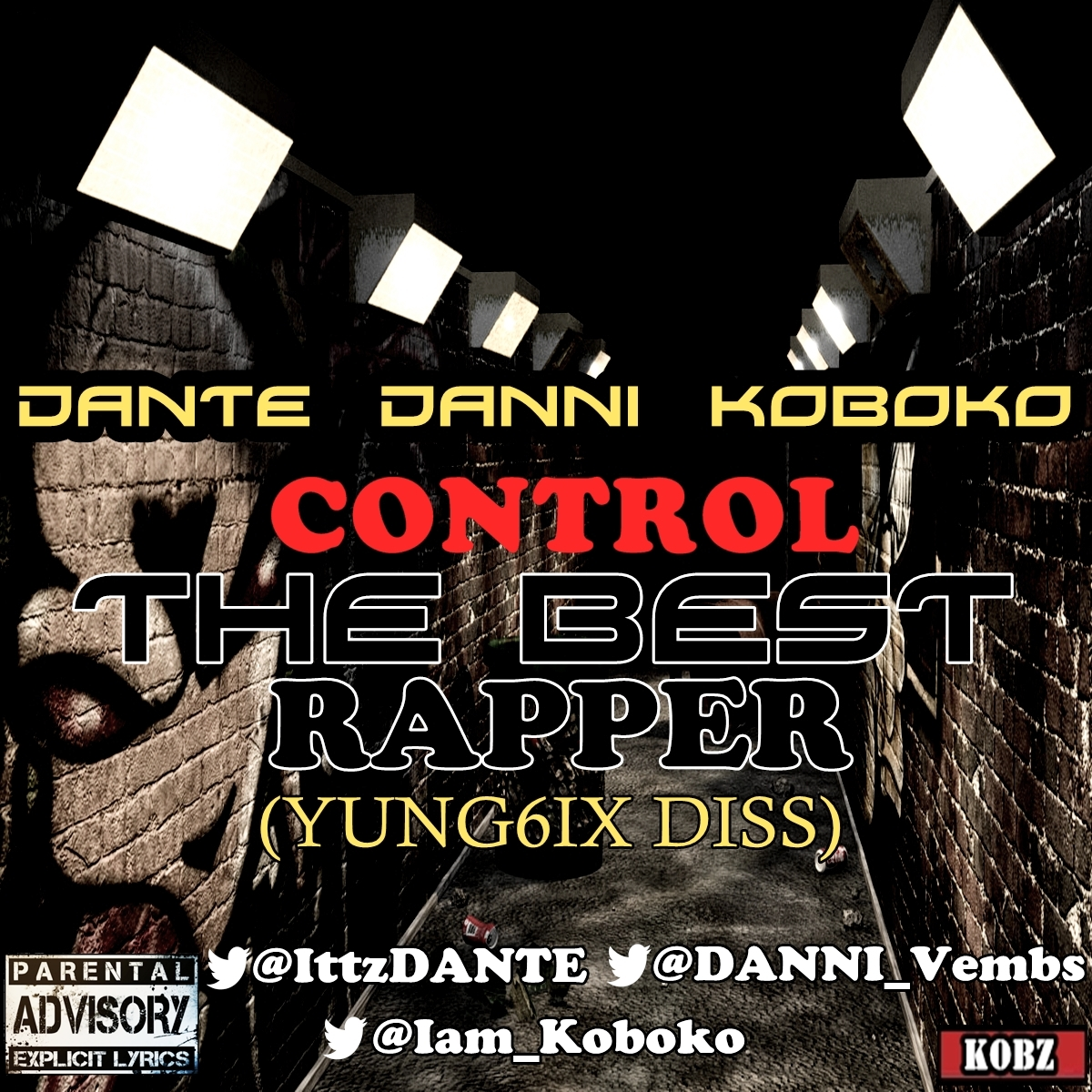 control the best rapper art